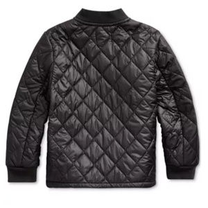 NEW! Toddler Boys Quilted Water-Repellent Jacket